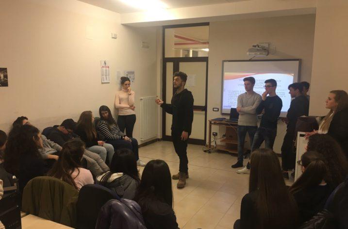 """Continuano gli incontri con """"Giovani leader per la Legalità"""", per gli alunni di Salerno"""