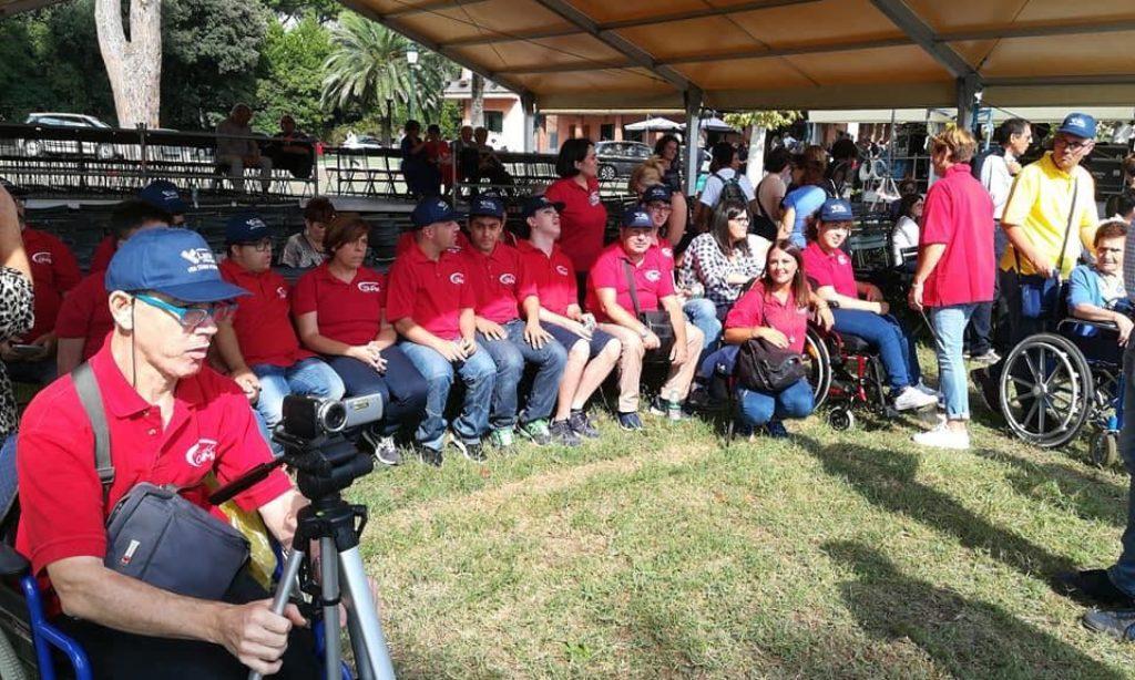 L'ONMIC A Castelporziano per la festa conclusiva delle iniziative sociali
