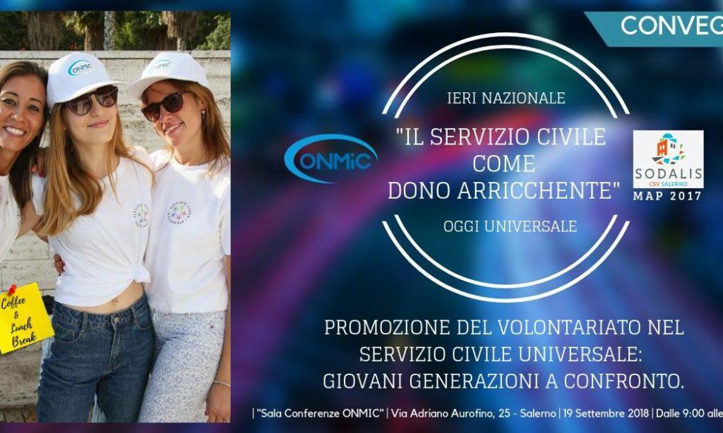 L'Onmic promuove la cultura del volontariato, in un convegno dedicato al Servizio Civile