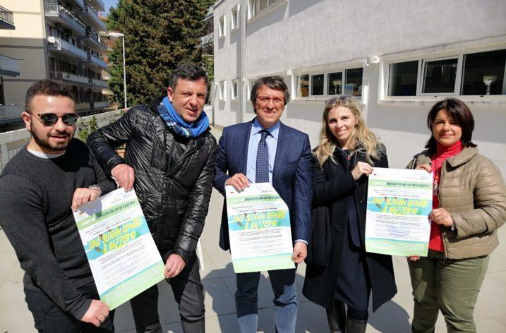 """Presentata la III edizione di """"Uno slogan contro il razzismo"""", organizzata dalla Rari Nantes Salerno, in collaborazione con Onmic e Ai.Bi."""