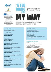 Locandina evento My Way