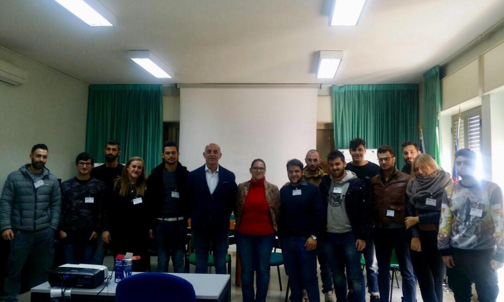 L'ONMIC presenta al Comune di Salerno i giovani volontari messi al servizio della cittadinanza